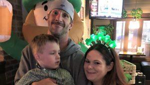 Keegan Ward family